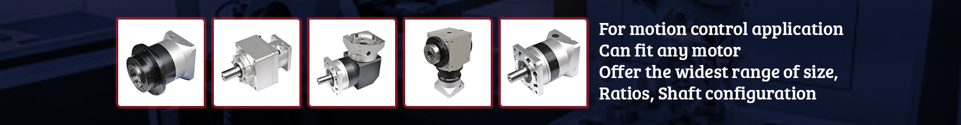 planetary gearboxes manufacturer