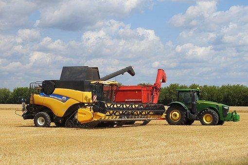 combine harvester actuator