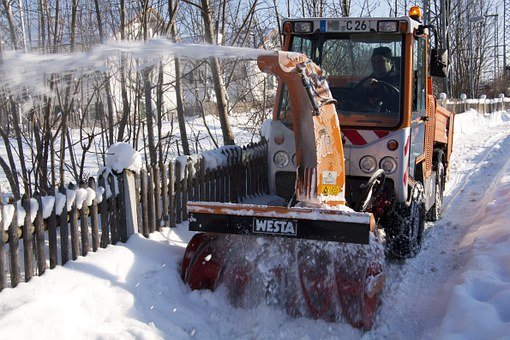 snow thrower actuator