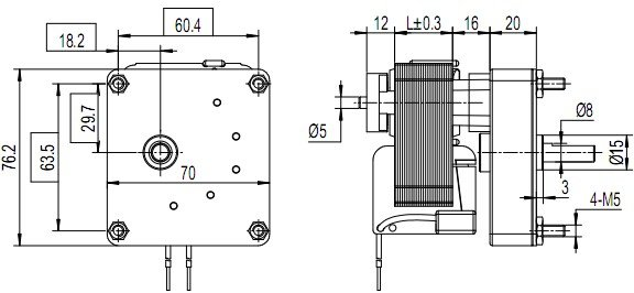 gm60-square-gear-motor-outline-drawing