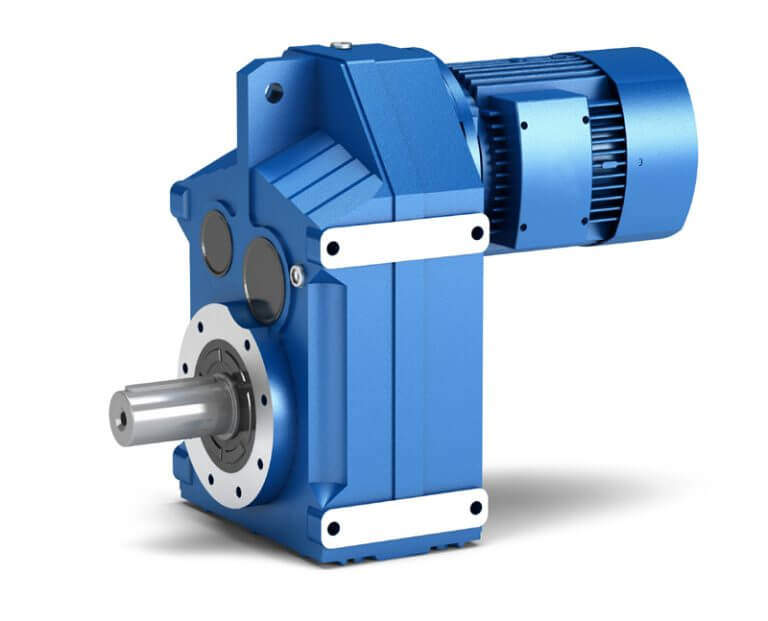 F Series Parallel Shaft Helical Gear Reuducer - Power Jack Motion