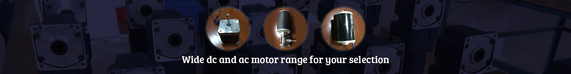 electric motor banner