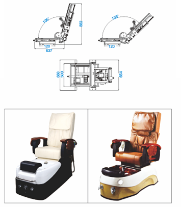 lift chair mechanism size