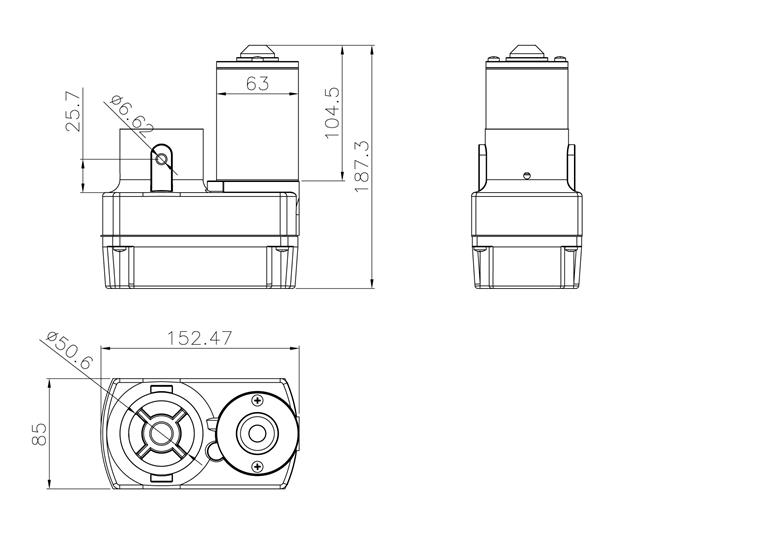 RV slide out motor drawing
